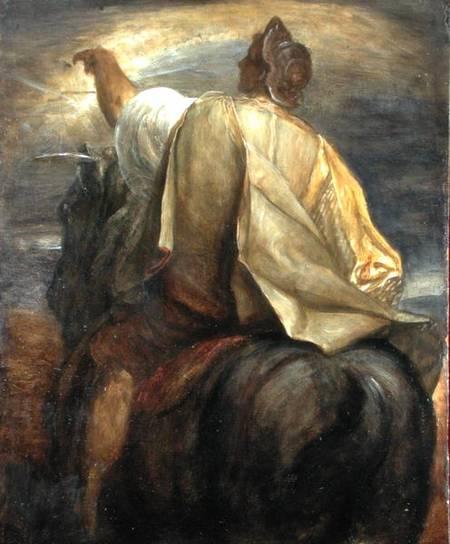 Всадники Апокалипсиса: всадник на черном коне
