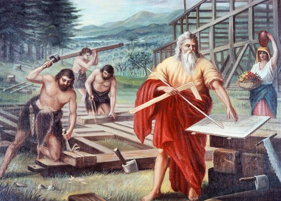 Миф о всемирном потопе и Ное