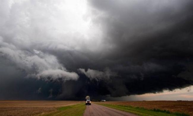 Торнадо - мощная стихия
