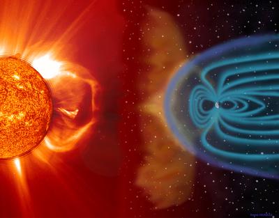Вспышки на Солнце и вероятность гибели Земли