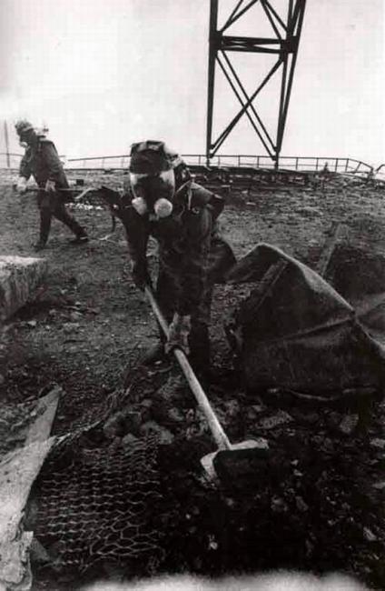 Чернобыльская катастрофа: саркофаг