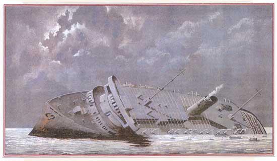 Самые известные кораблекрушения: лайнер «Вильгельм Густлофф»
