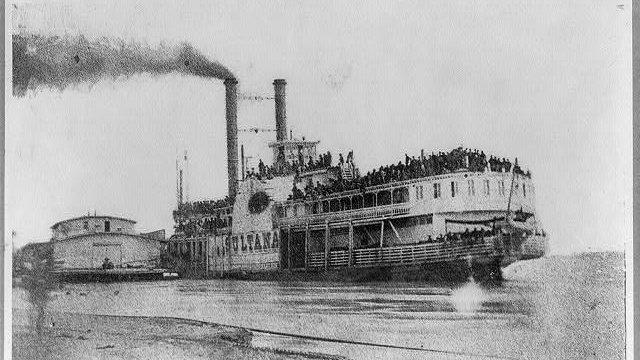 Самые известные кораблекрушения: пароход «Султана»