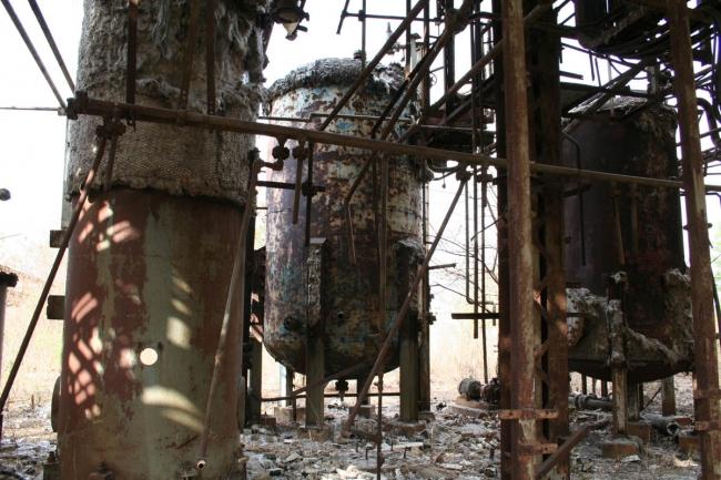 Авария на химическом заводе в Бхопал