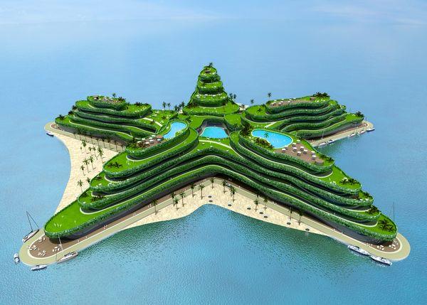 Города будущего - «Зеленая звезда»