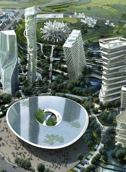 Города будущего - новая концепция