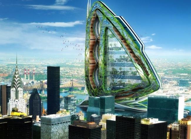 Города будущего - «Стрекоза»