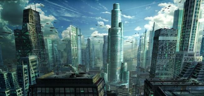 Города будущего - огромные и густонаселенные