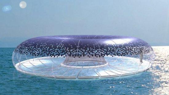 Города будущего - футуристический дизайн
