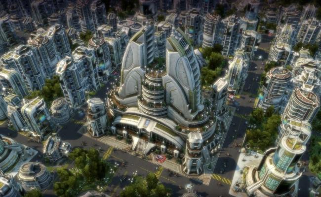 Города будущего - высокие здания