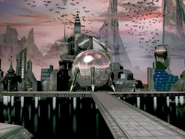 Города будущего - живые организмы