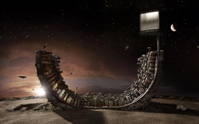 Города будущего - концепции