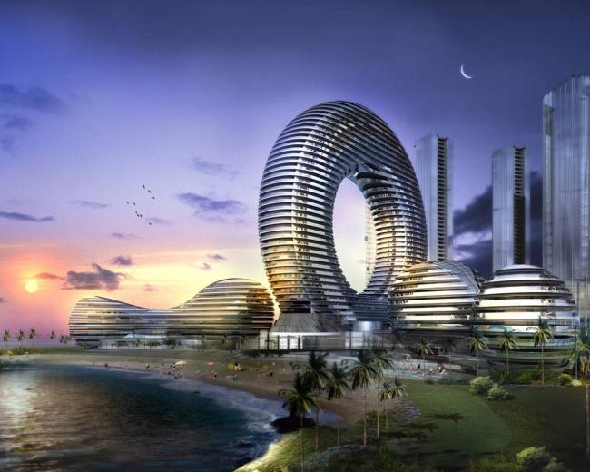 Города будущего - круглый город