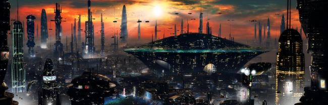 Города будущего - необычные формы