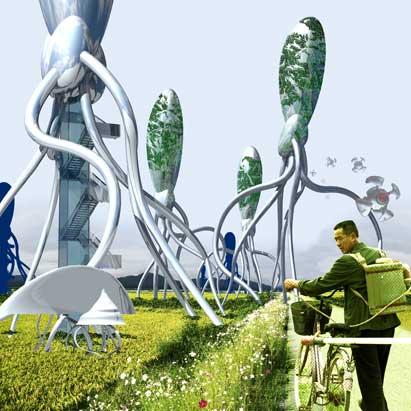 Города будущего - «умный» парк в Корее