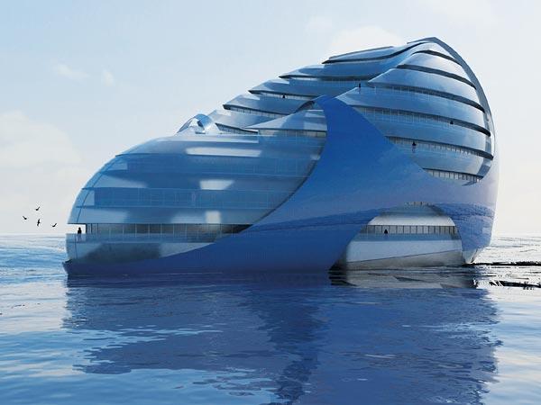 Города будущего - плавающий город
