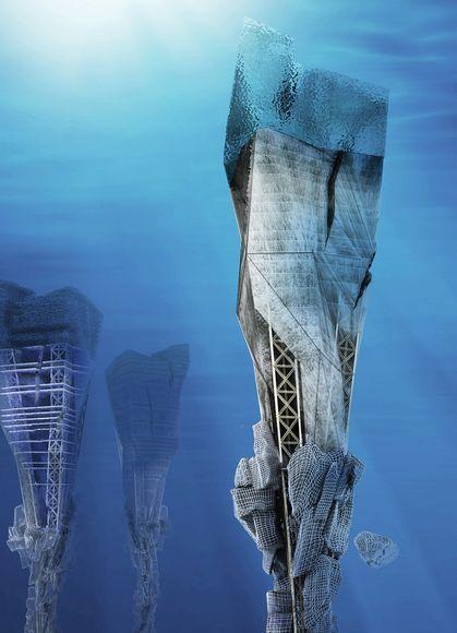 Города будущего - «океаноскребы»