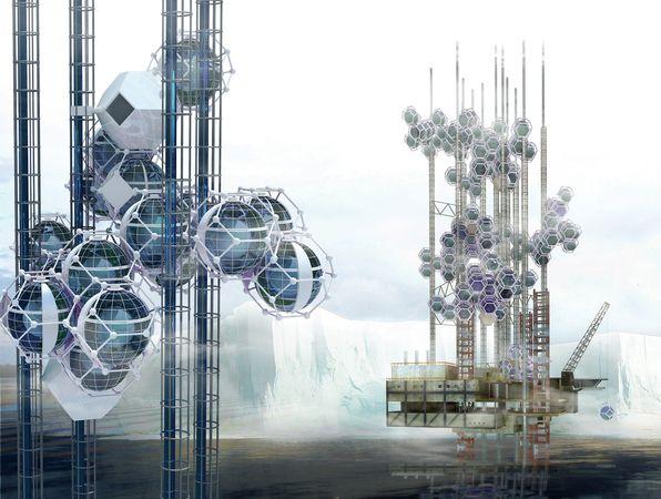 Города будущего - сферические модули