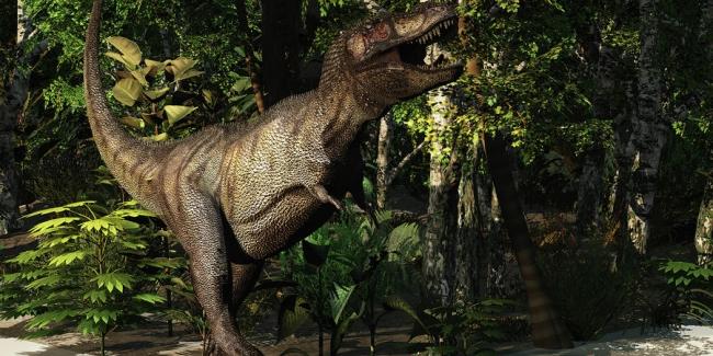 Тираннозавр: охота