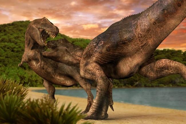 Тираннозавр: крохотные ручки