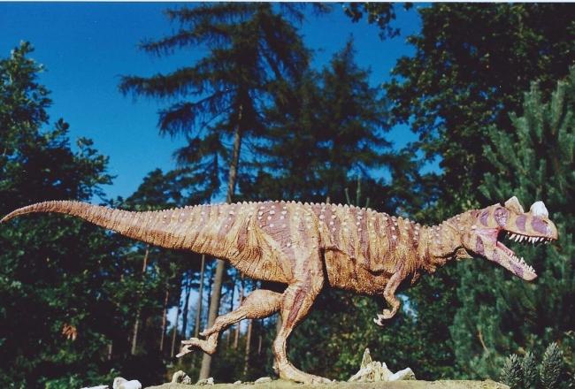 Хищные динозавры: цератозавр