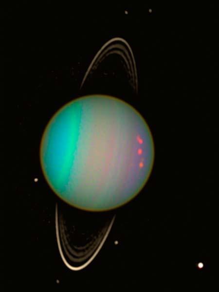 Кольца и луны Урана