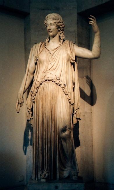 Богиня плодородия: Деметра