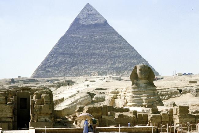 Египетские пирамиды: размеры
