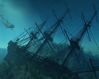Старинные клады: судно «Морской цветок»
