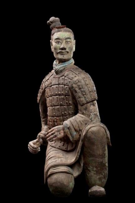 Терракотовая армия и крестьянин Джи Ван