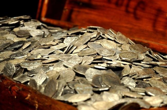 Поиск монет в селе Гончариха-Воскресенка