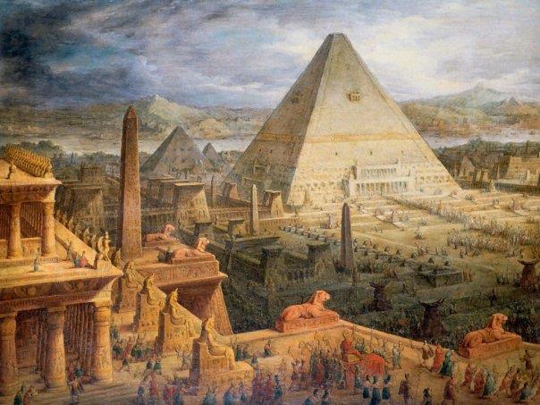 Строители египетских пирамид: строительство электростанции