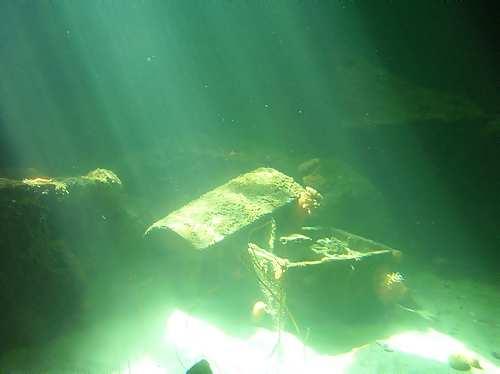 Найденные пиратские клады - находка Deep Blue Marine