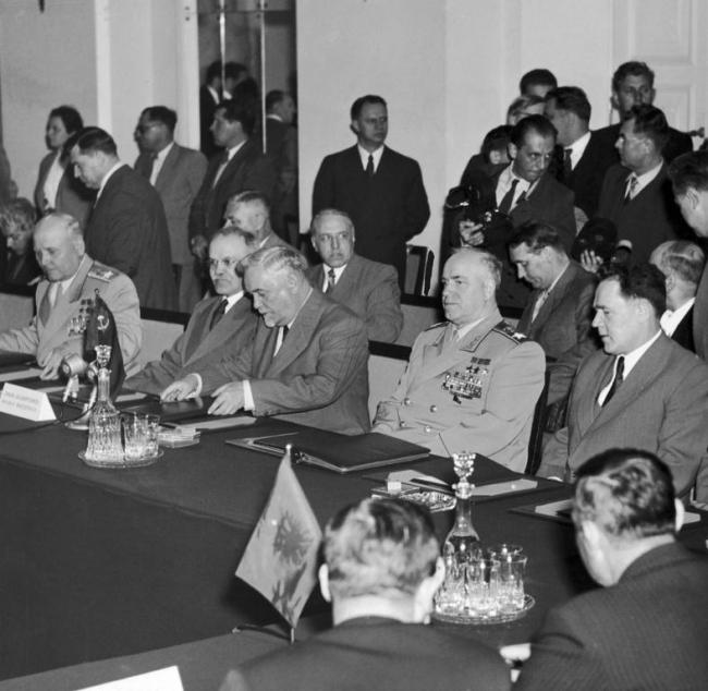 Организация Варшавского договора: структура