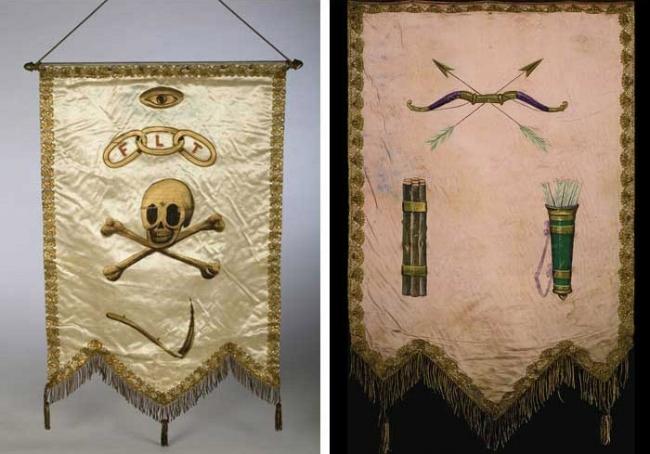 Символы масонов: флаги