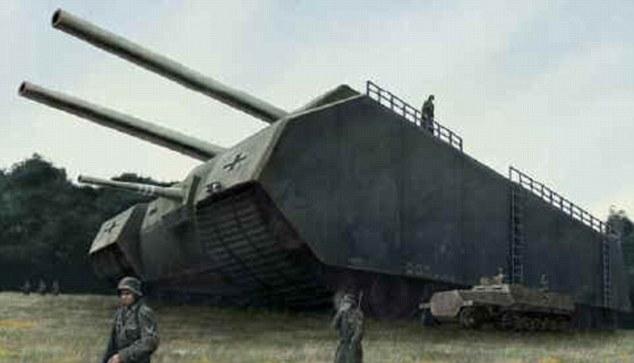 Тайны Третьего Рейха: гигантские танки