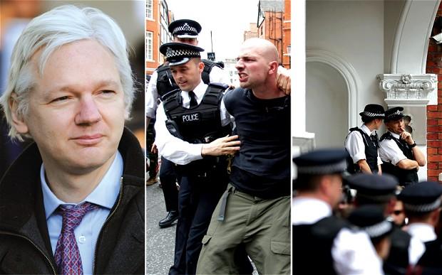 Wikileaks - скандал с Джулианом Ассанжем