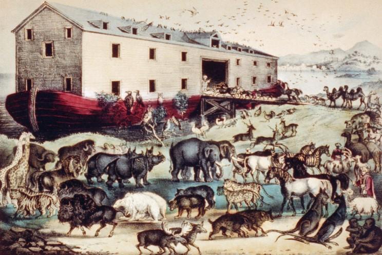 Ноев ковчег - грандиозное сооружение