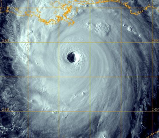Ураган Катрина - за день до трагедии