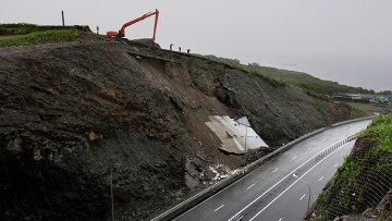 Оползни в России - опасные территории