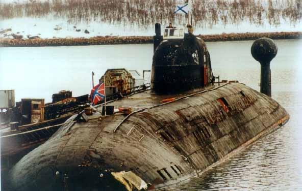 подводная лодка руслан