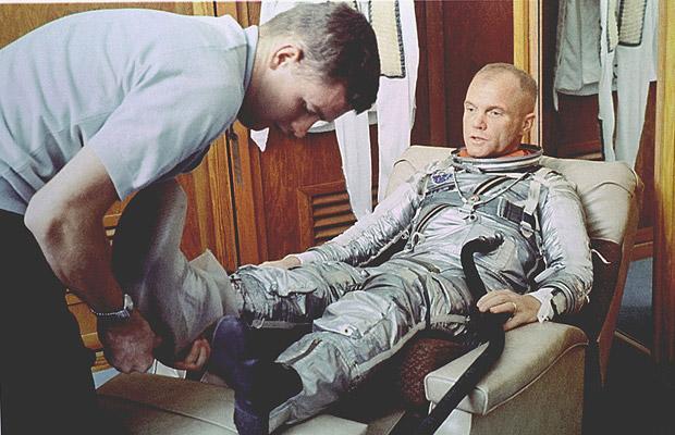 Первые космонавты: Джон Гленн