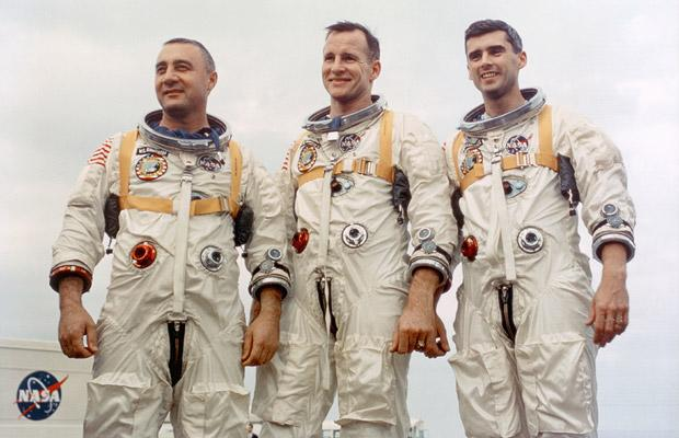 Первые космонавты: трагедия на «Миссии AS-204»