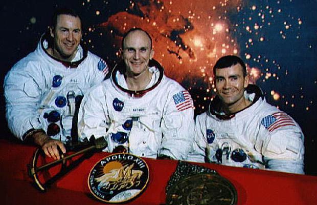 Первые космонавты: состав «Аполлон 13»