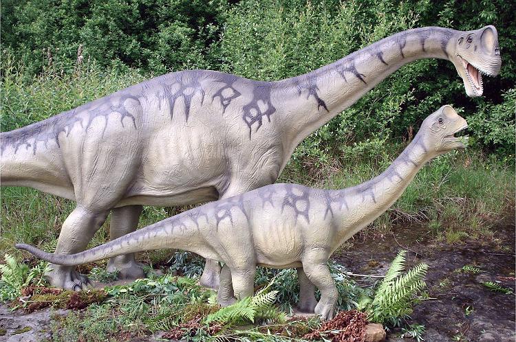 Динозавры - развитие