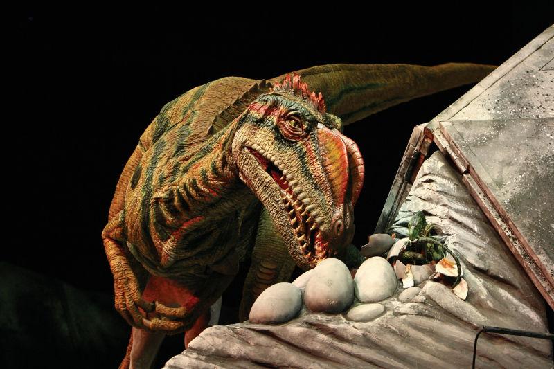 Динозавры - потомство