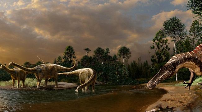 Динозавры и извержения вулканов