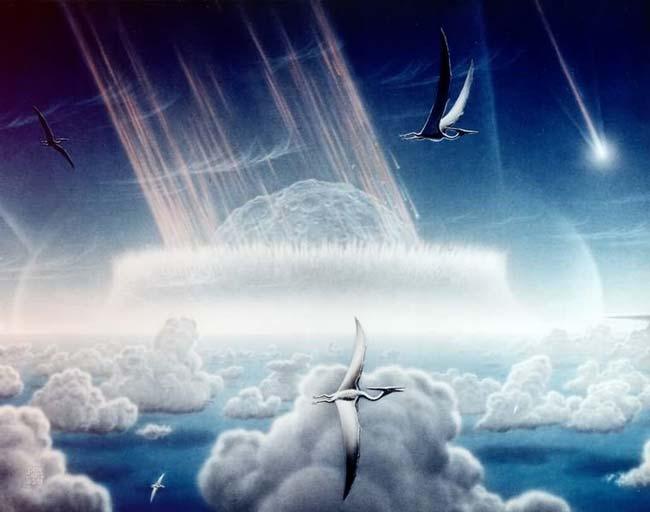 Динозавры - исчезновение