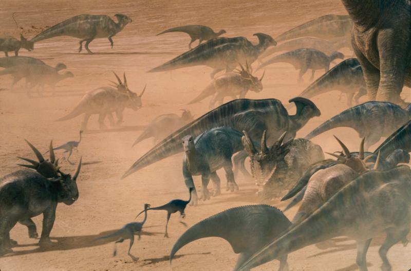 Динозавры - цвет кожи