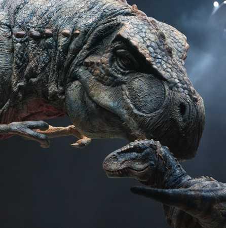 Динозавры - забота о потомстве